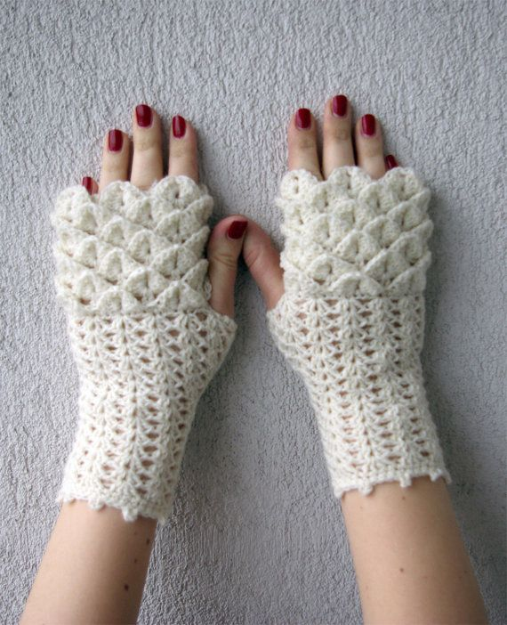 Fingerless gloves, Hand warmers, Handwarmers, Knitted Arm warmers ...