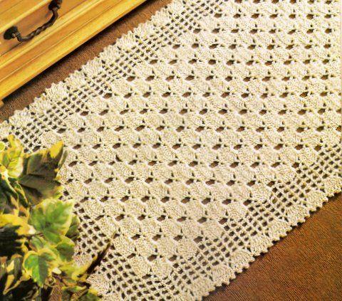Tapete de croche pinteres for Tapetes de crochet