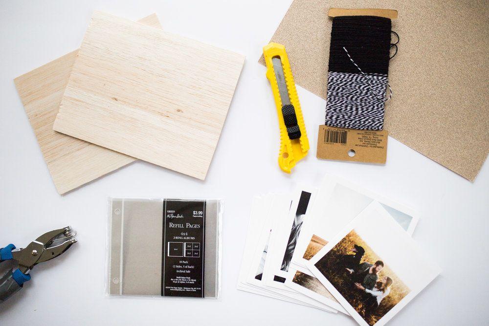 Diy wooden photo album minimalism woods and album diy wooden photo album do it yourself crafts balsa wood solutioingenieria Choice Image