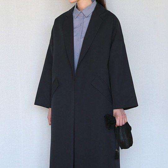 미니멀한 무드가 느껴지는 롱코트! -minimal flap pocket coat #aftermonday #daily #dailylook #style #에프터#에프터먼데이 #데일리#데일리룩 #일상#소통#셀스타그램#selfie by afterm_web