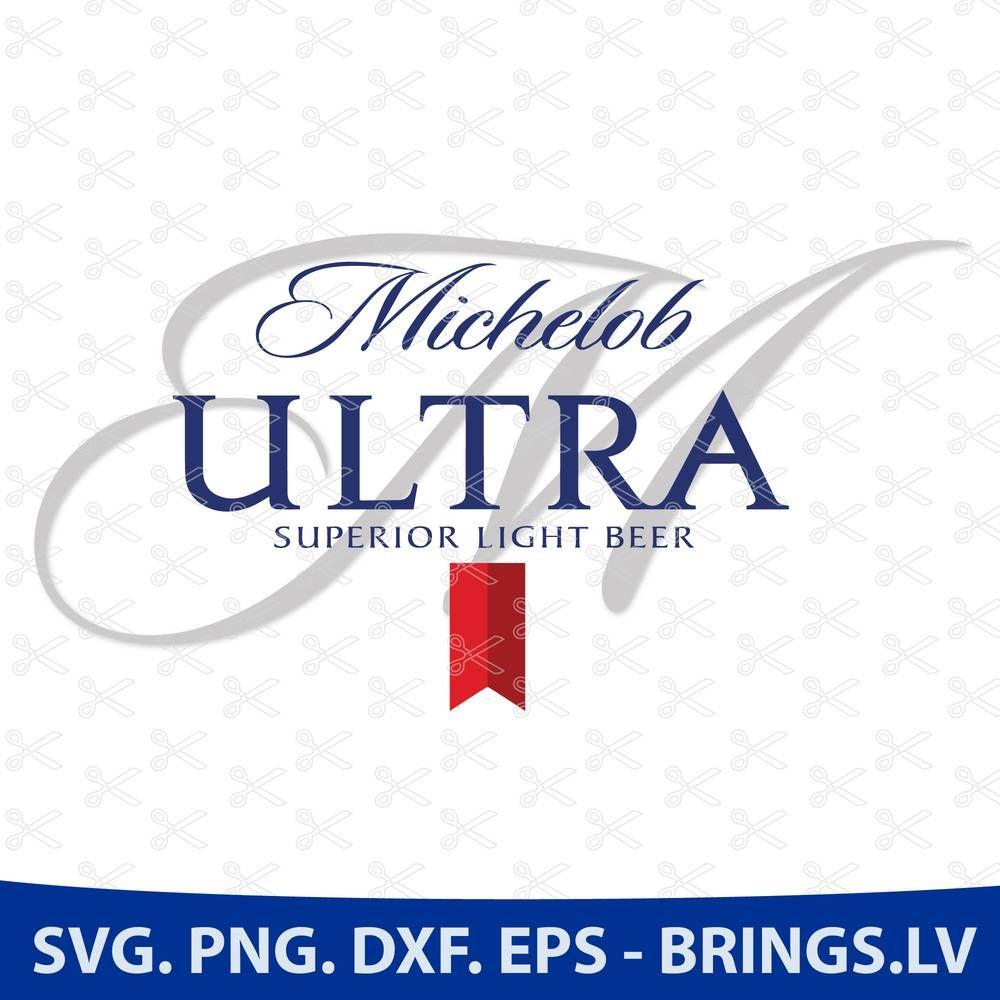 Michelob Ultra Svg Beer Svg File Michelob Ultra Logo Tumbler Decal Michelob Ultra Tumbler Decal Svg