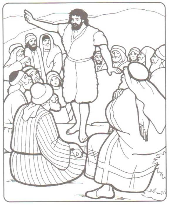 Matthew 3 1 John The Baptist Prepares The Way 3 In Those Days John