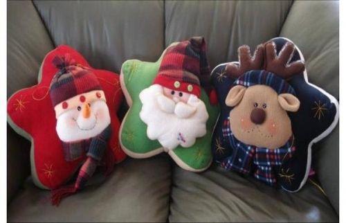 Cojines Navidad Manualidades.Cojines Estrellas Cojines Cojines Navidenos