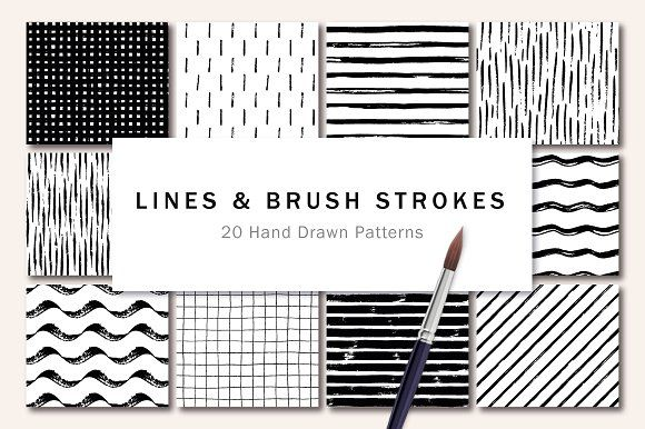 Lines And Brush Strokes With Images How To Draw Hands Brush