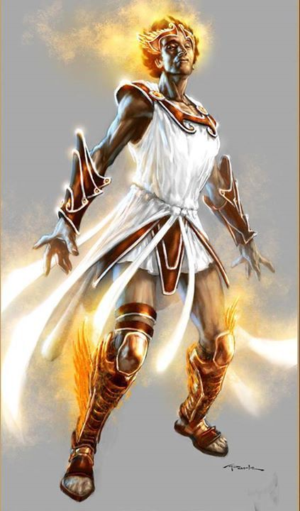 Hermes is the Greek god of travelers, messengers, thieves, commerce, sports, athletics and speed. He is the son of the King of Olympus Zeus and the Pleiades Maia. He is also the father of Ceryx the messenger of Mt. Olympus