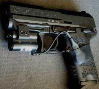 Luv my H&K USP  45 W/crimson trace laser sight | Stuff I