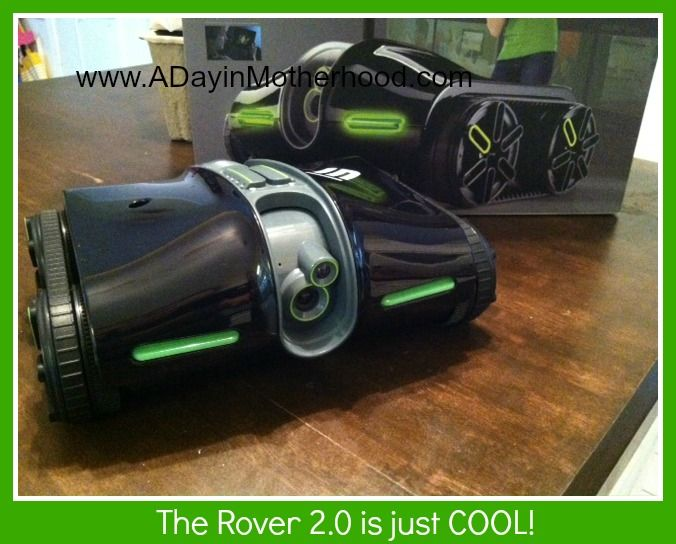 The Rover 2.0 AppControlled Wireless Spy Tank from