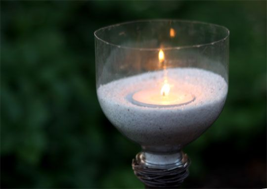 Outdoor Candle Lights How to make outdoor candle lights using plastic bottles plastic how to make outdoor candle lights using plastic bottles workwithnaturefo