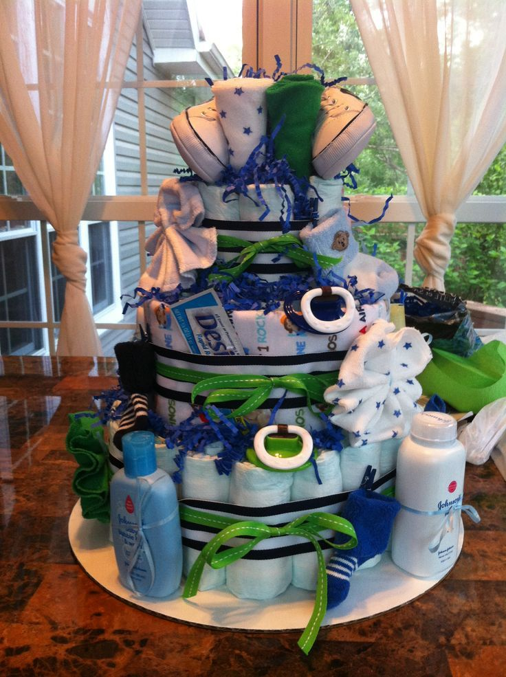 diaper cakes for boys  diapers, boys and cake, Baby shower invitation