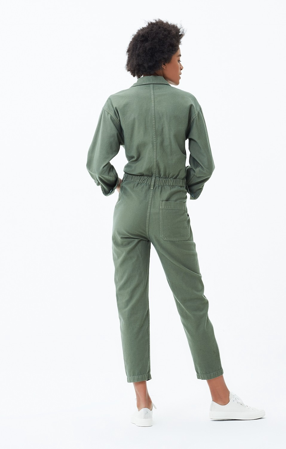 b74e72d8f Citizens Of Humanity Marta Jumpsuit In Retreat - XS Green | Products ...
