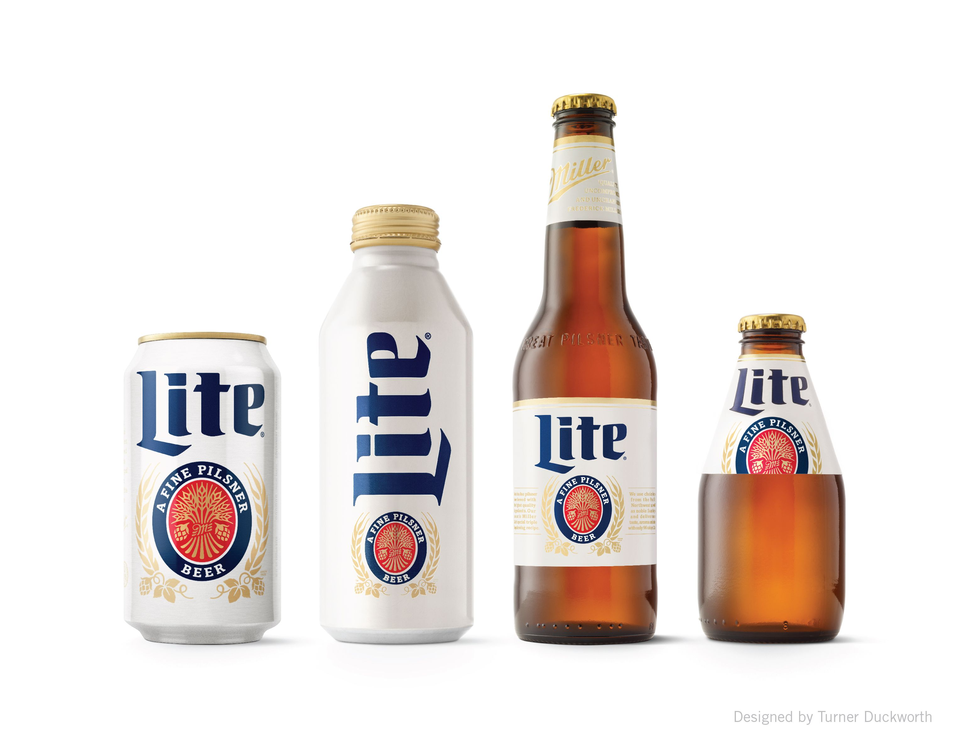 Miller Lite Packaging And Visual Identity Designed By