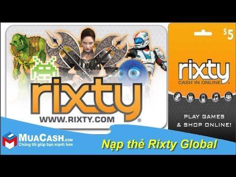 Naprobux Hướng Dẫn Cach Nạp Thẻ Rixty Vao Tai Khoản Muacash Muacash Rixty Naptienvaotaikhoanrixty Naprobux Naproblox Game Chơi Game