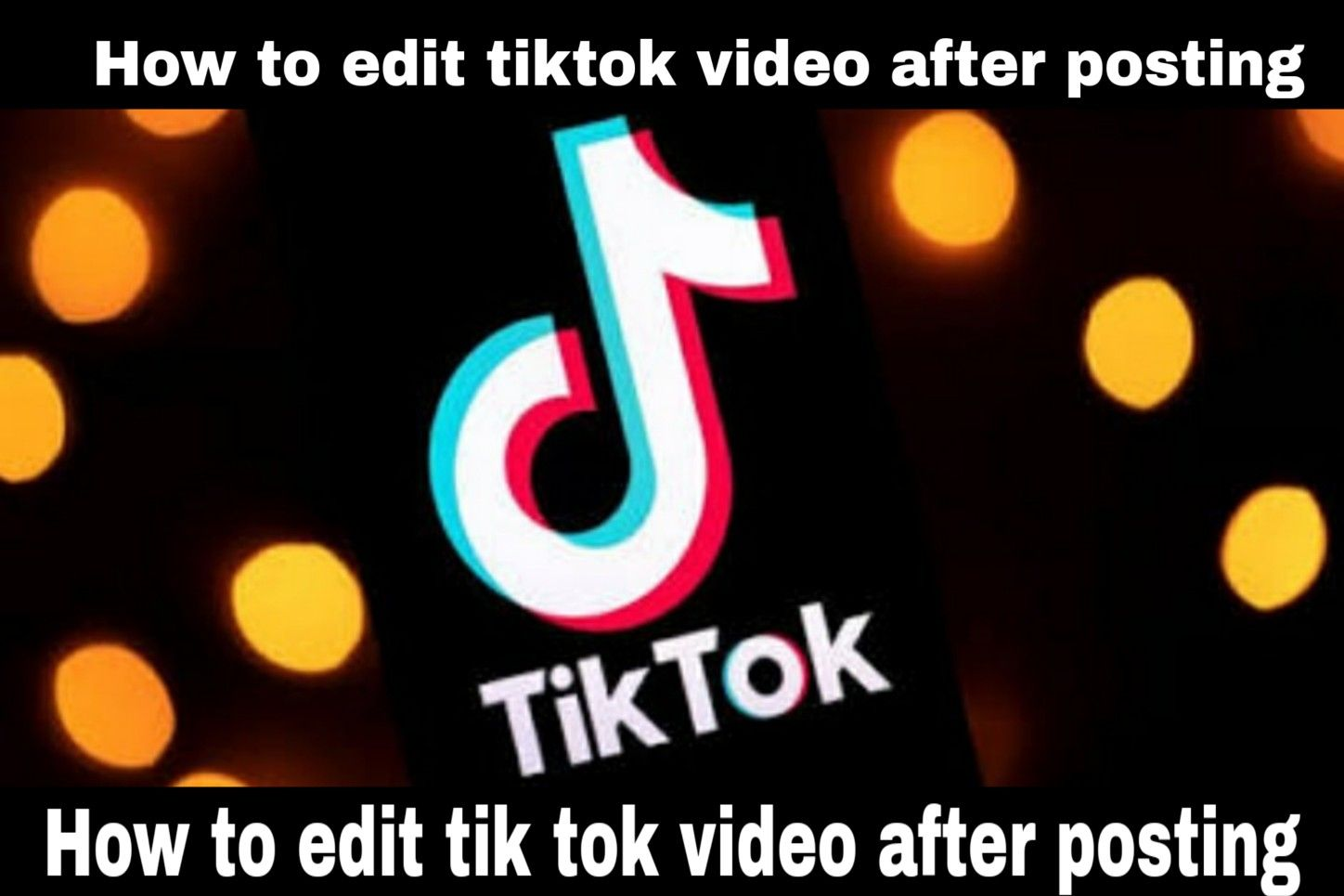 How To Edit Tik Tok Video After Posting Video Editing Apps Video Editing Editing Apps