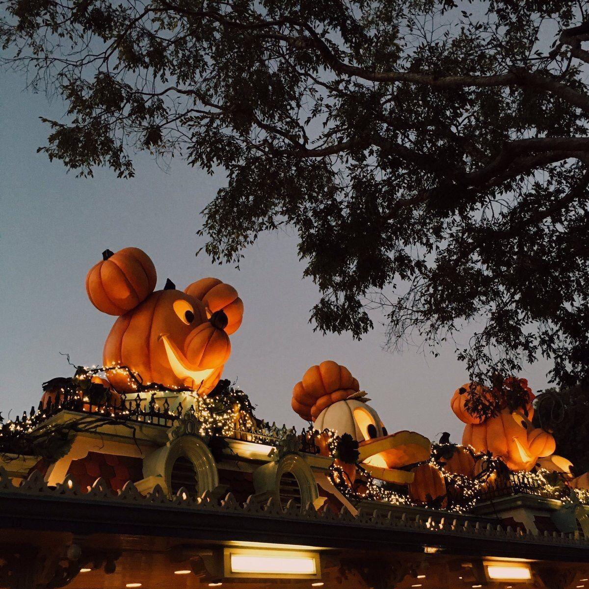 Disney image by Sydney Heyrend Meigs Disney halloween