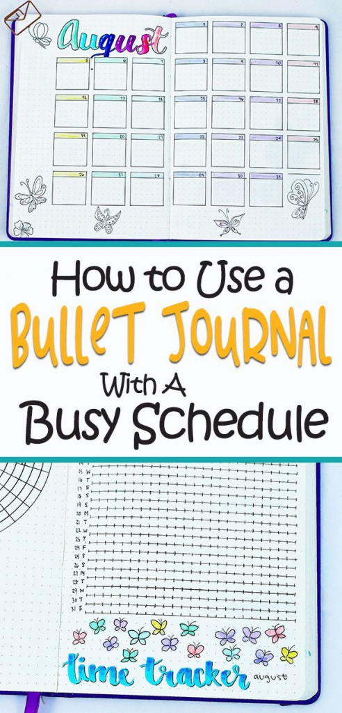 Bullet Journal Hacks- too busy to keep a bullet journal? These bujo hacks will h...