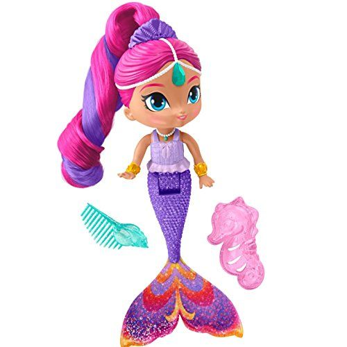 Dora The Explorer Mermaid Sparkle And Twirl Commercial: Fisher-Price Nickelodeon Shimmer & Shine Magic Mermaid