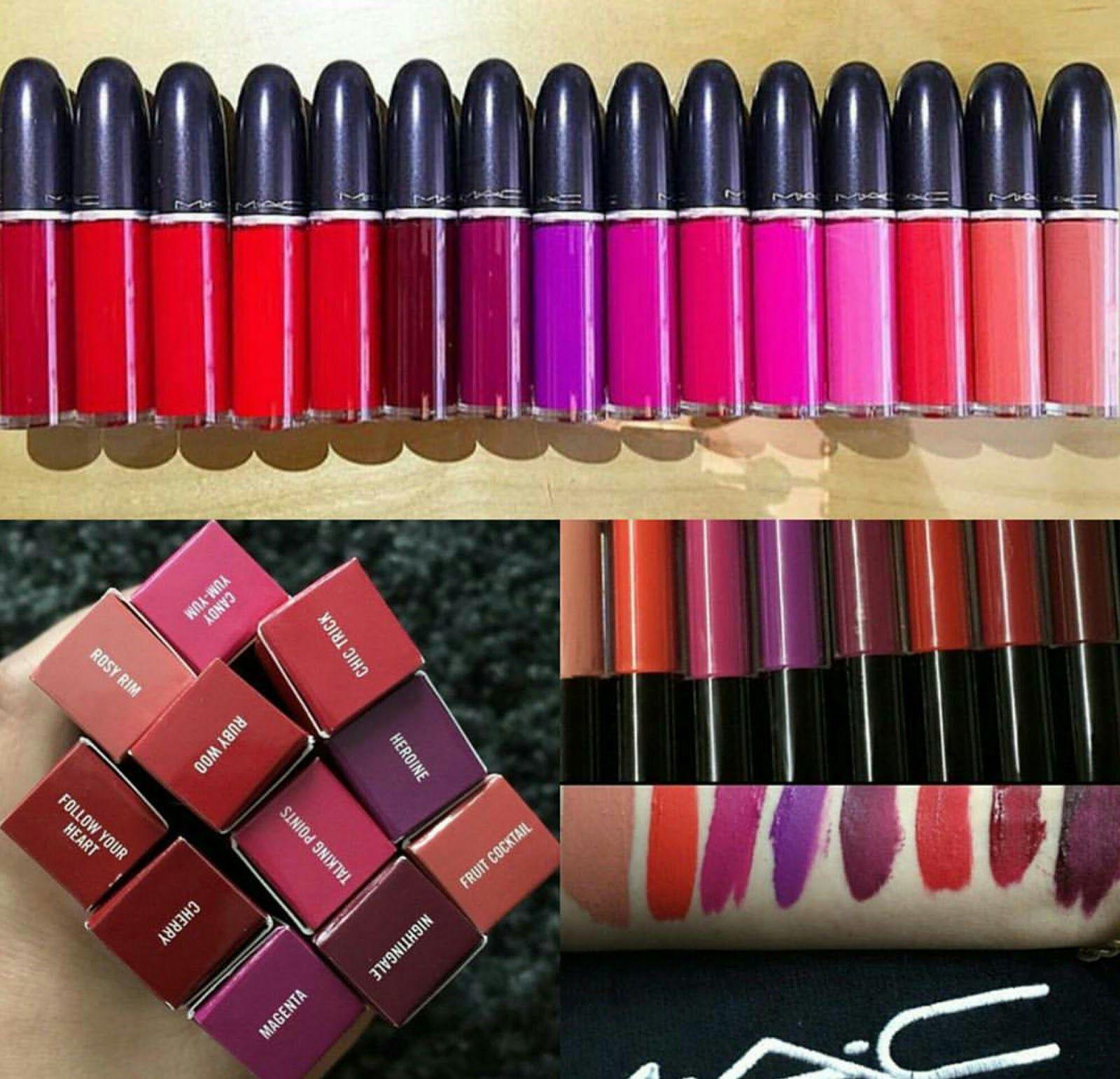 Sneak Peek MAC Retro Matte Liquid Lipsticks COMING JANUARY 7th