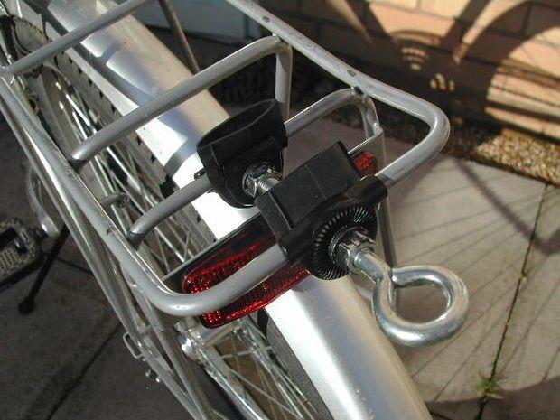 Bicycle Trailer Hitch To Luggage Rack Mit Bildern Anhanger