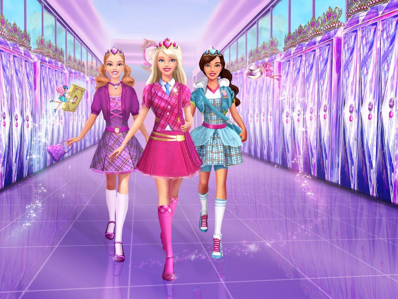 Barbie Princess Charm School Light Switch Plate kids girls room