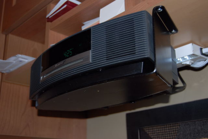 Under Cabinet Mounting Bracket Fits Bose Wave Radio