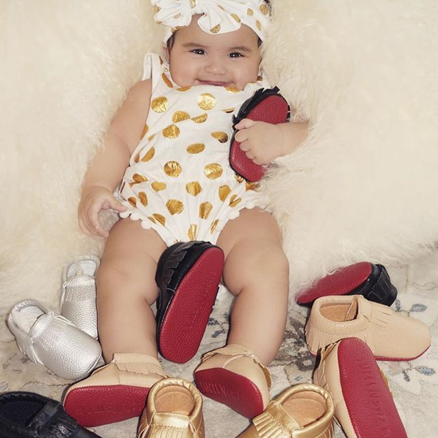 Baby girl shoes, Baby moccasins, Baby girl