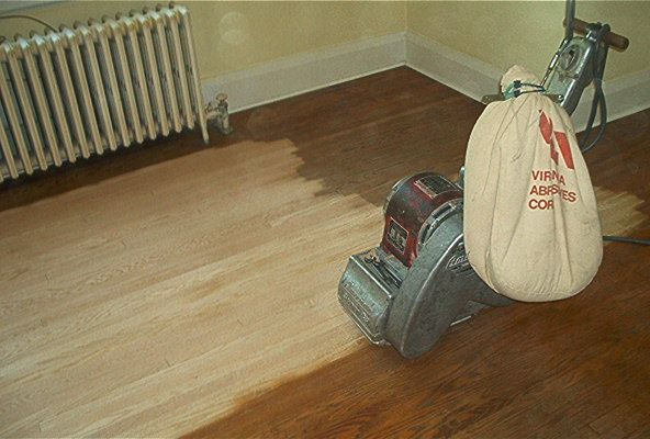 How To Sand A Wood Floor For Refinishing Step 5 How To Sand