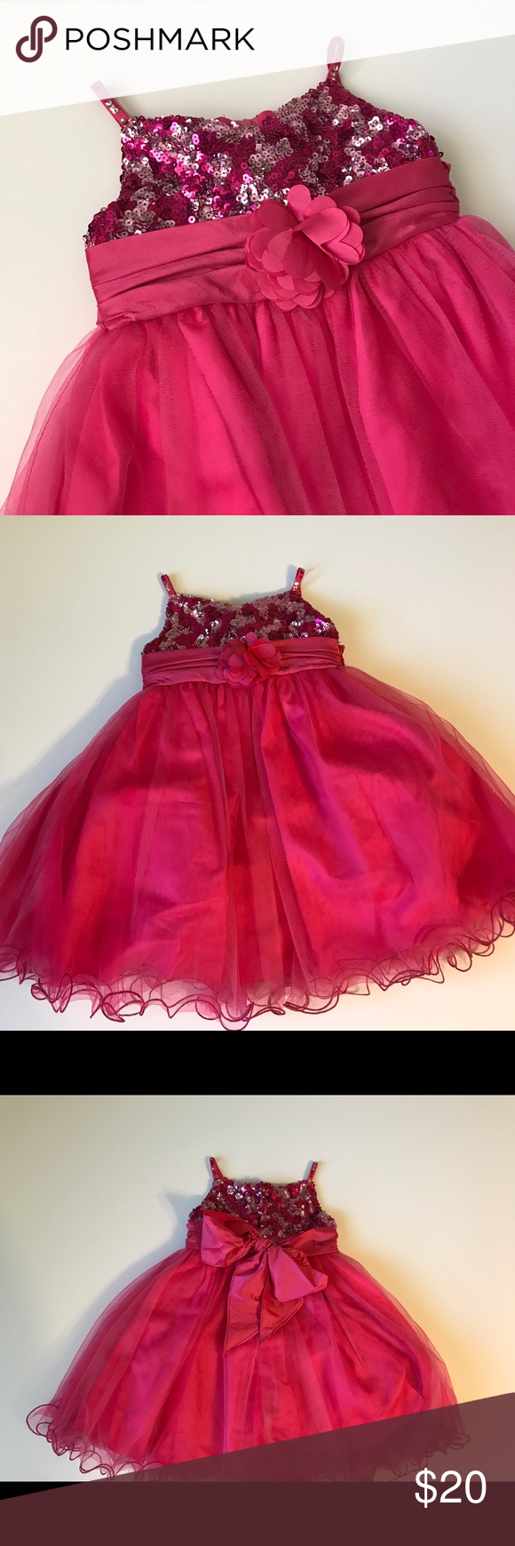 Tip top pink and hot pink sequin dress months pink sequin dress