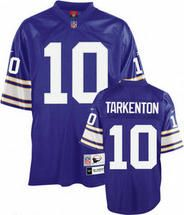 new concept 151c8 cde9b NFL Minnesota Vikings Fran Tarkenton #10 Throwback Purple ...
