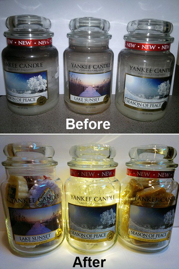 Cakes By Catriona Recycling Your Yankee Candle Jars Yankee