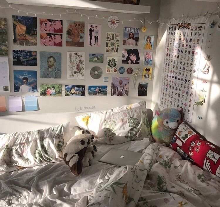 Tumblr Rooms Dharmawhimsy The First Rainbow Morning In My Room Ideas Bedroom Aesthetic Bedroom Room Inspo