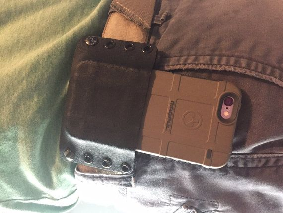 the latest 4c6cc b3db5 Iphone 6 plus Magpul Field case Kydex holster by PracticalCarry ...