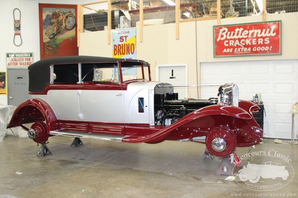Concours Classic Restorations – Antique, Brass Era, and Classic Car ...