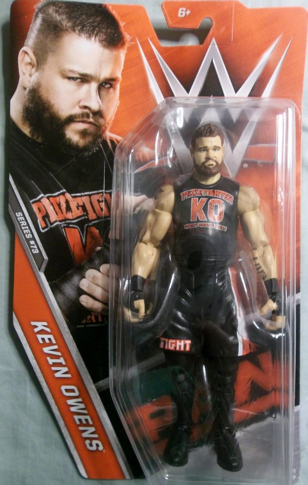 Mattel WWE Basic Series 73 Kevin Owens Action Figure