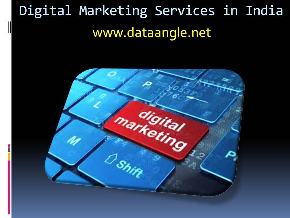 Digital Marketing  Digital marketing is an interactive process to promote your product or brand services using the digital technologies to reach the customers.  DataAngle Technologies provide you digital marketing training where the key objective is to understand and promote your brands through various forms of digital media.