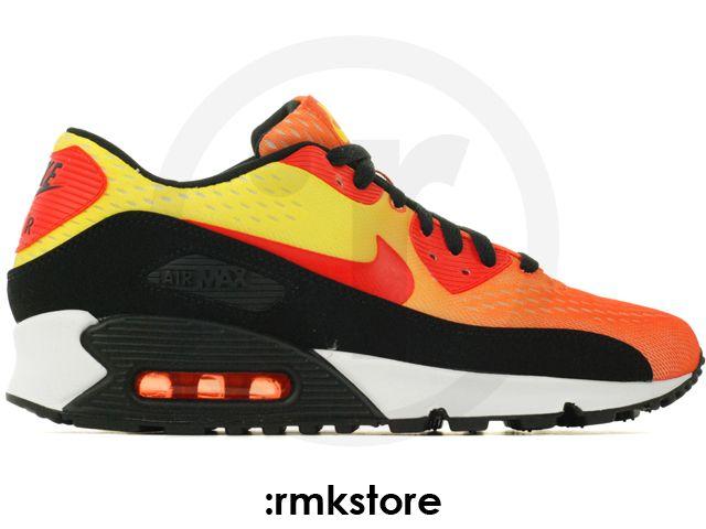 Nike Air Max 90 EM Engineered Mesh Sunset Pack Team Orange Yellow