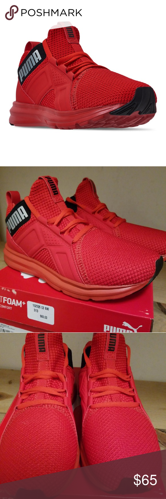 Puma Enzo Weave Jr Equivalence to womans 6 BRAND NEW WITH