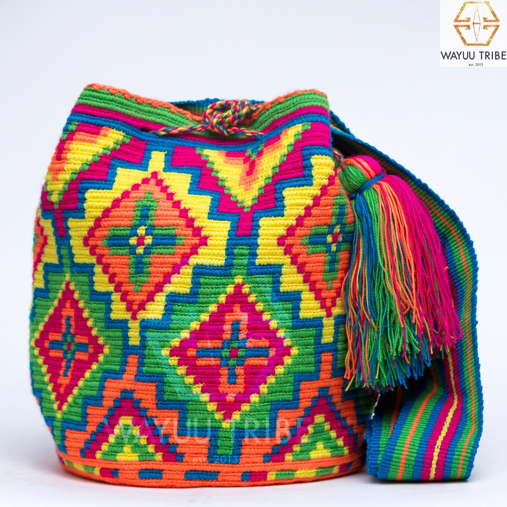 Cabo Wayuu Bag | mas | Pinterest | Häkeln