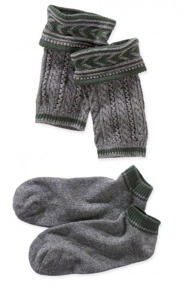 Loferl set with socks 36012 anthracite/forest   Trachten Shoes ...