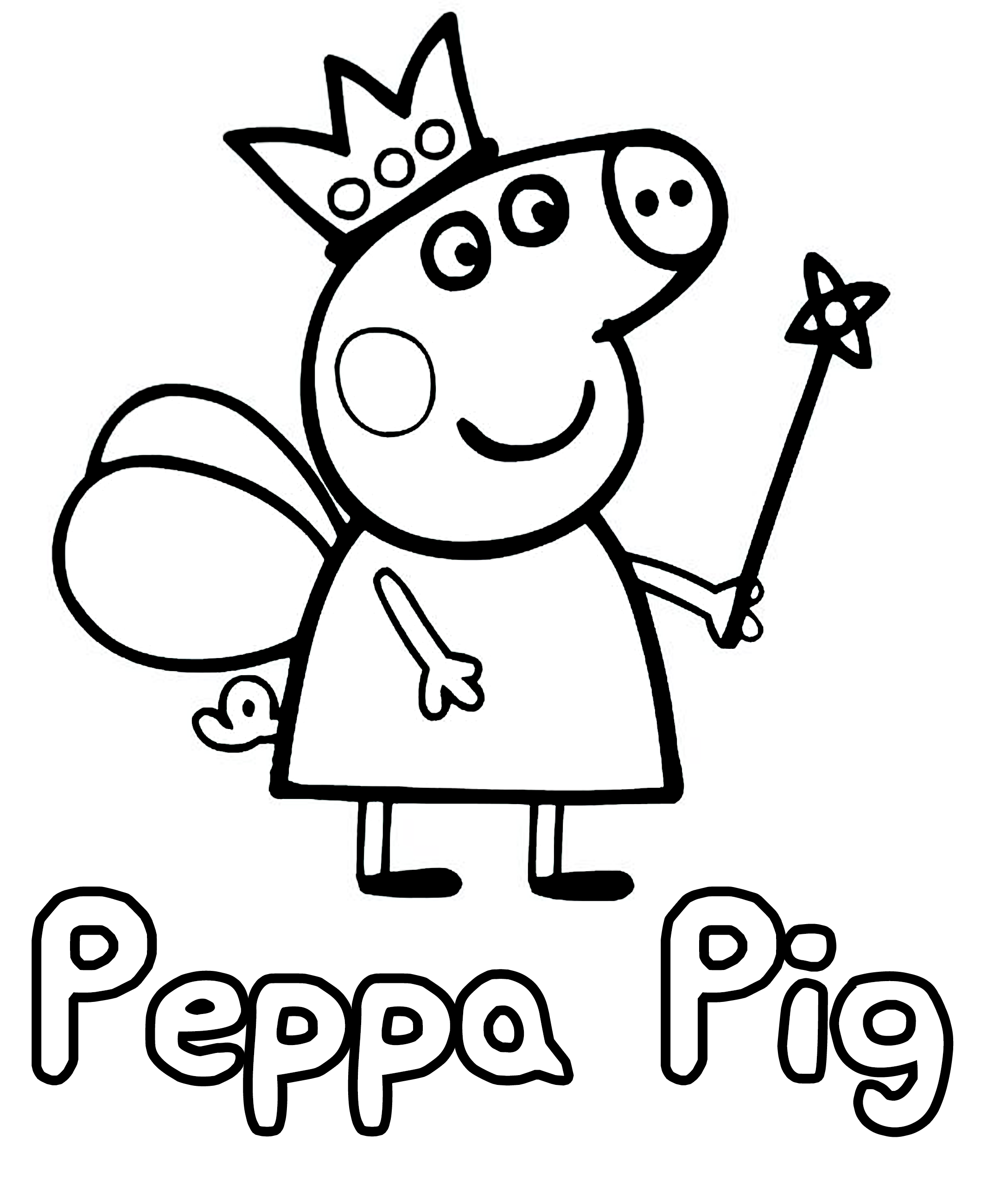 Peppa Pig Coloring Bubakids Creative Peppa Pig Pig Peppapig Pig Cartoon Coloring Pag Peppa Pig Colouring Peppa Pig Coloring Pages Cartoon Coloring Pages