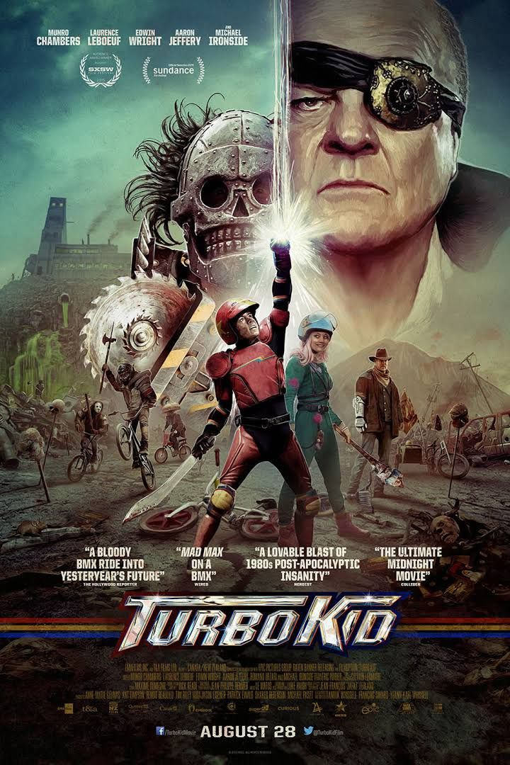 Turbo Kid Estrenos En Cine Peliculas Divertidas Peliculas