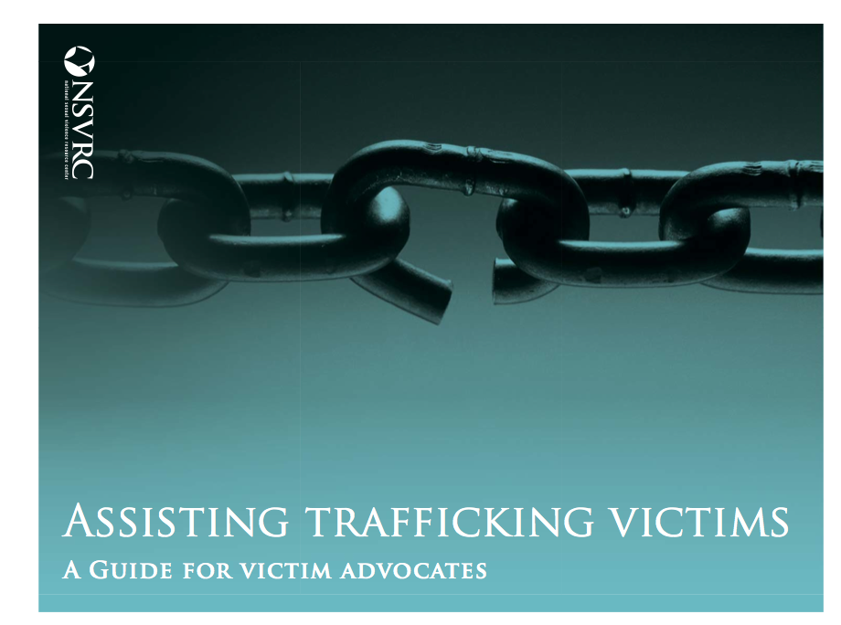Assisting Trafficking Victims Information Packet