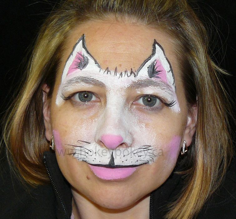 Face Painting Design Cat Mask face painting Pinterest Face