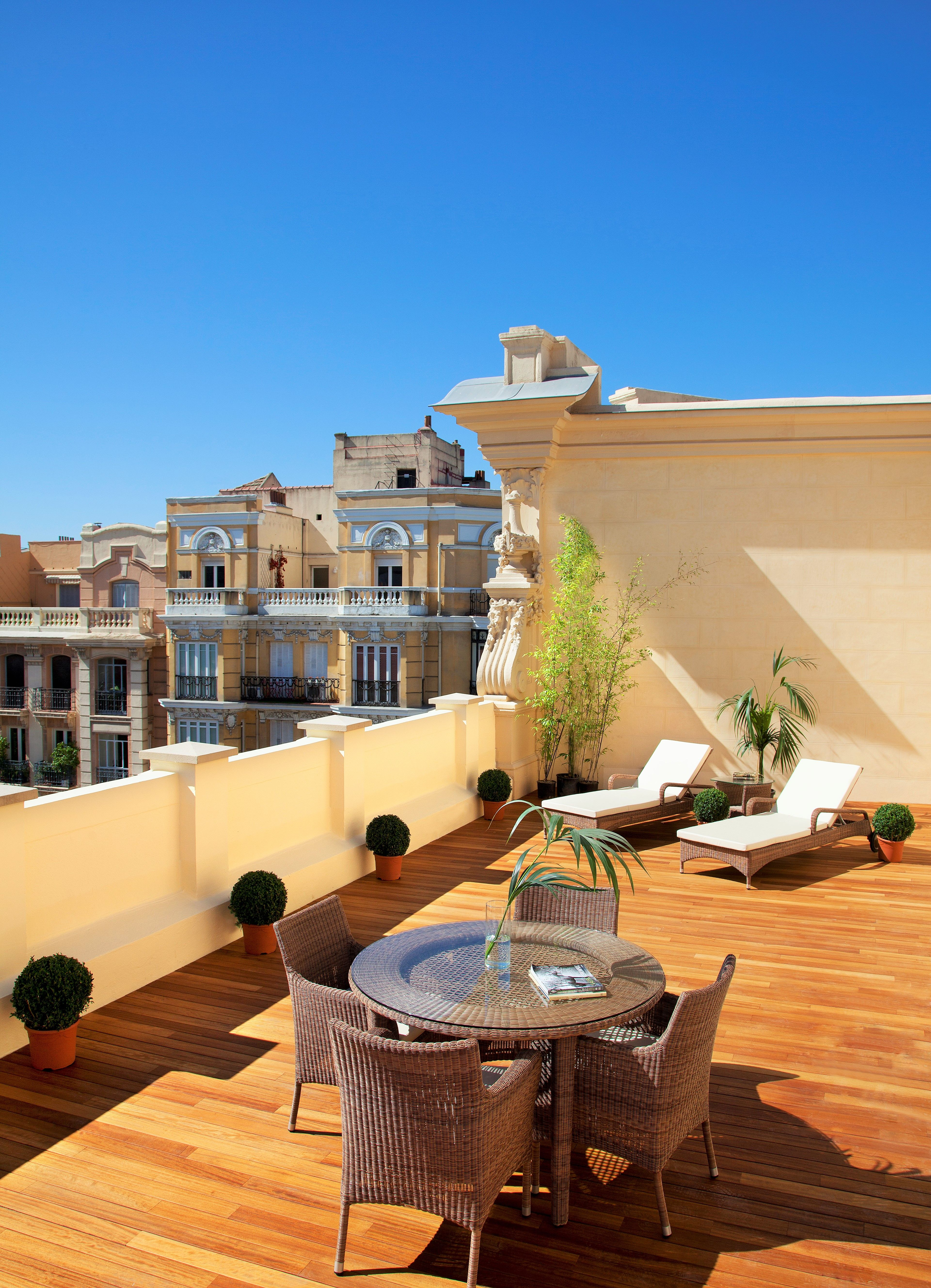 Terraza Suite Madrid Hotels Hotel Spa Hotel