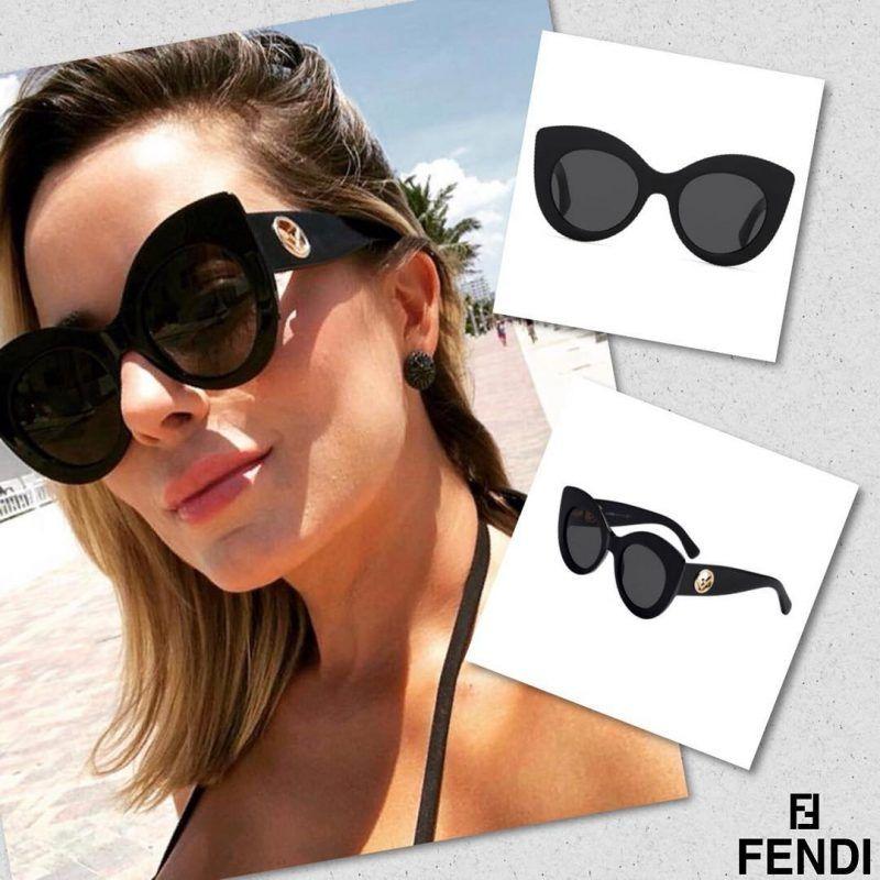 Óculos de Sol Fendi – FF 0306 S – Preto   óculos de Luxo   Pinterest ... a38985ef20