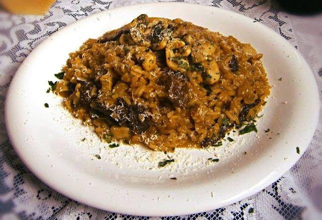 Foodlosophy: Risotto de hongos / Mushroom risotto