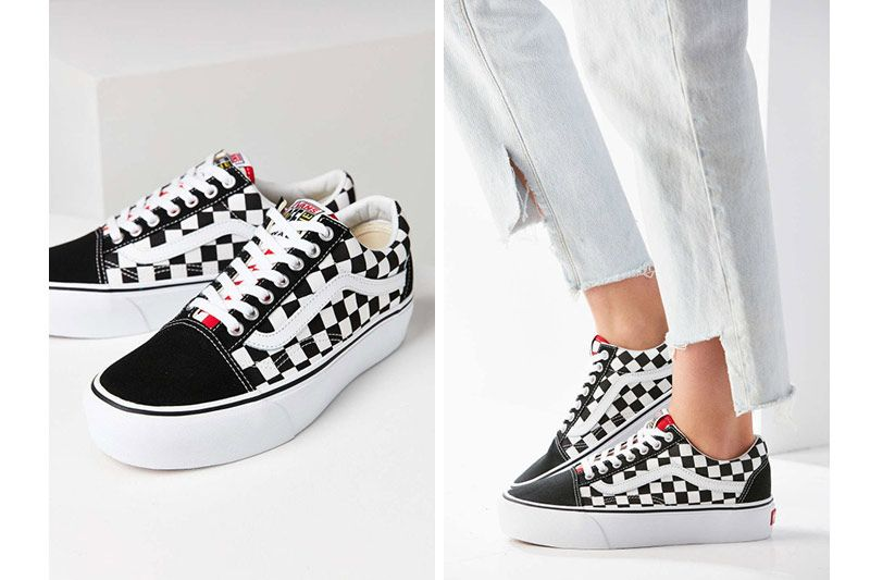 Style Platform Classic Updates Old With Checker Skool Vans The A fxzqwnEH1