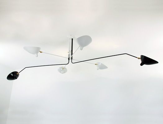 Serge Mouille 6 Arm Ceiling Lamp - Serge Mouille 6 Arm Ceiling Lamp Lighting Pinterest Ceilings