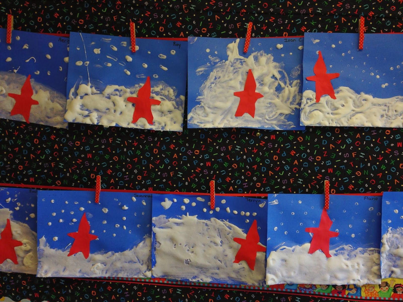 The Snowy Day An Art Project