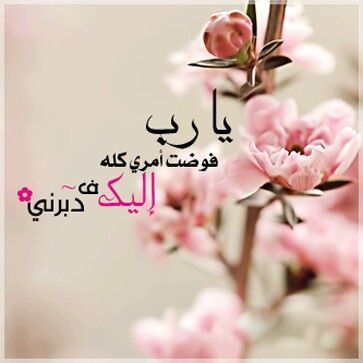 يارب فوضت امري كله اليك ف دبرني Place Card Holders Arabic Love Quotes Home Decor Decals