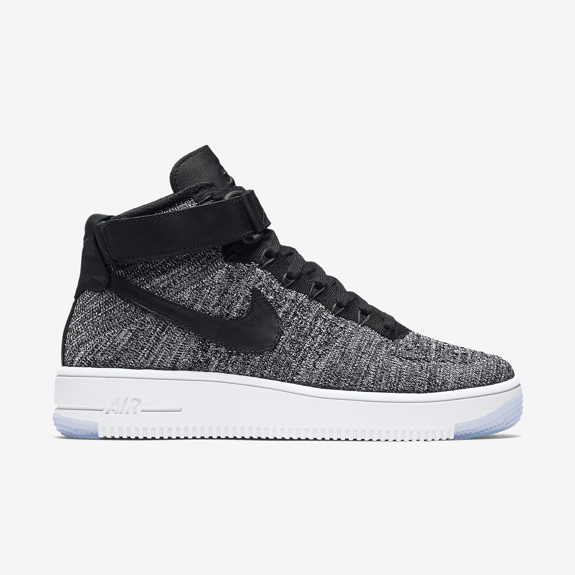 Nike Air Force Force Air Negro Goma Inferior a236b0